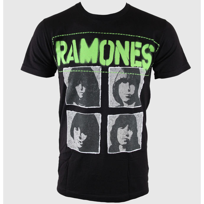 t-shirt metal men's Ramones - Hey Ho 30/1 - BRAVADO