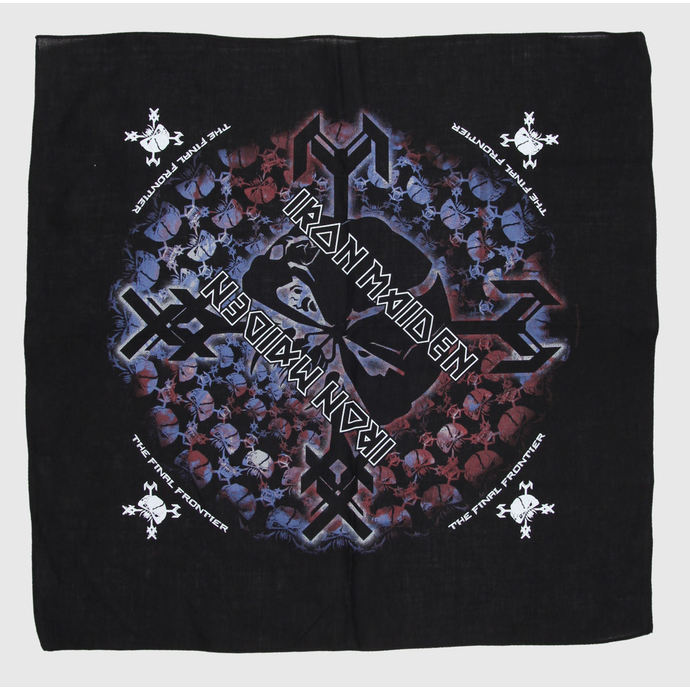 kerchief Iron Maiden - The Final Frontier Skull - RAZAMATAZ
