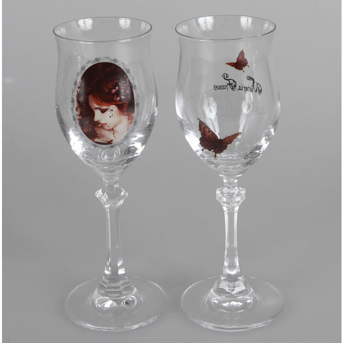 shot glasses (two-part set) Victoria Frances - Butterfly U. Butterfly
