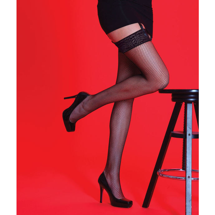tights LEGWEAR - Scarlet - Fishnet LT