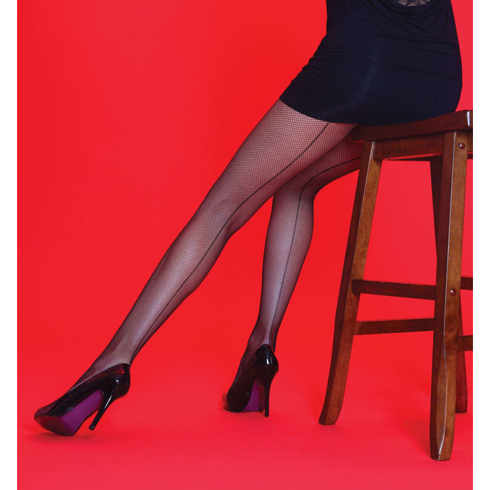 tights Legwear - Scarlet - BKSEAM Fishnet