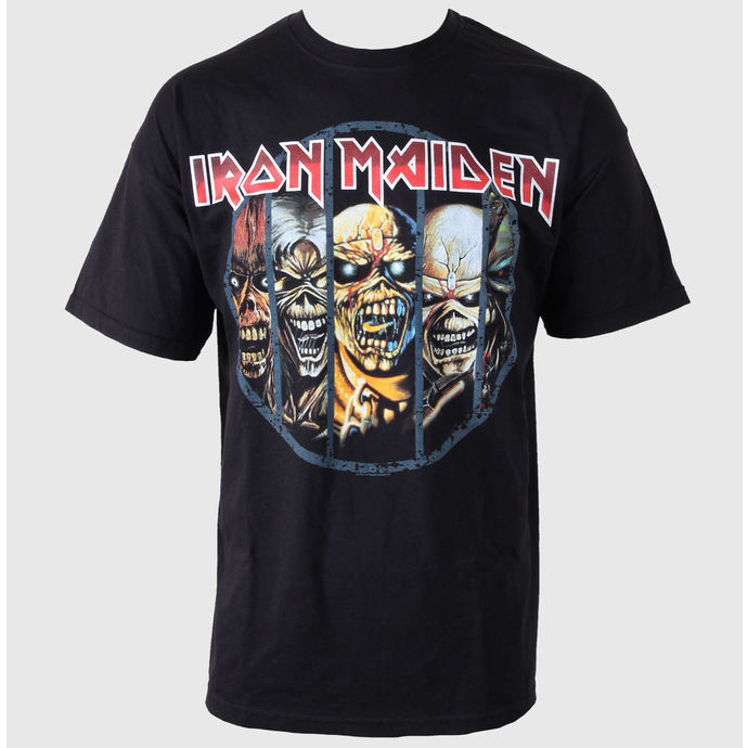 t-shirt metal men's Iron Maiden - Eddie Candle - ROCK OFF
