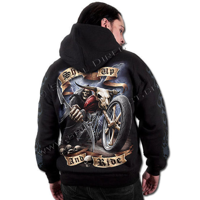 hoodie men's - Shut Up And Ride - SPIRAL