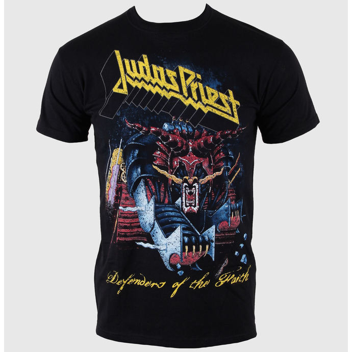 t-shirt metal men's Judas Priest - Defender Of Faith - ROCK OFF