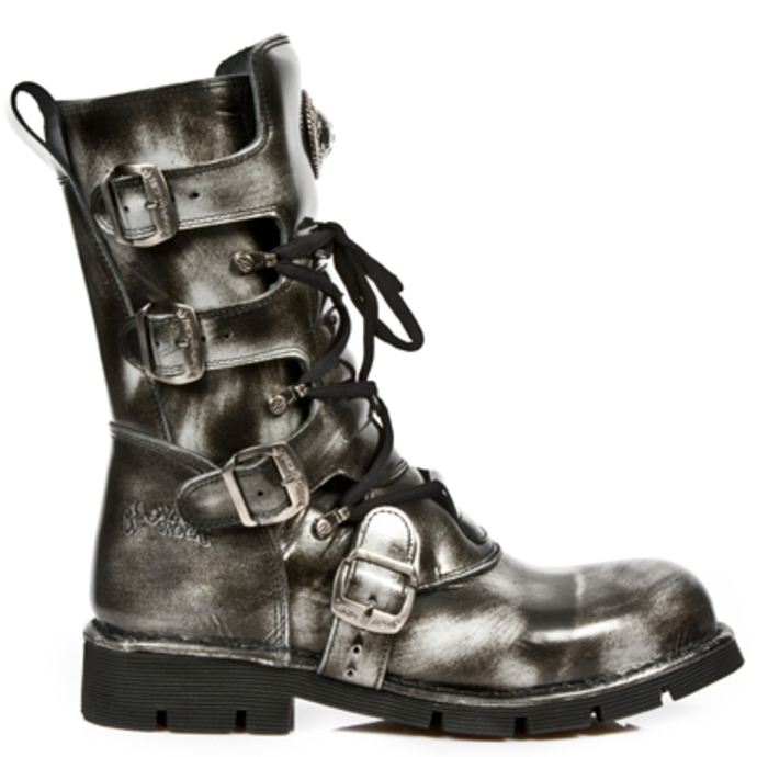 leather boots women's - 1473-S5 - NEW ROCK