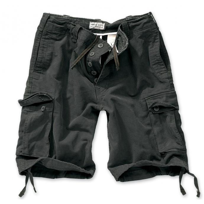 shorts men SURPLUS VINTAGE Short - Black