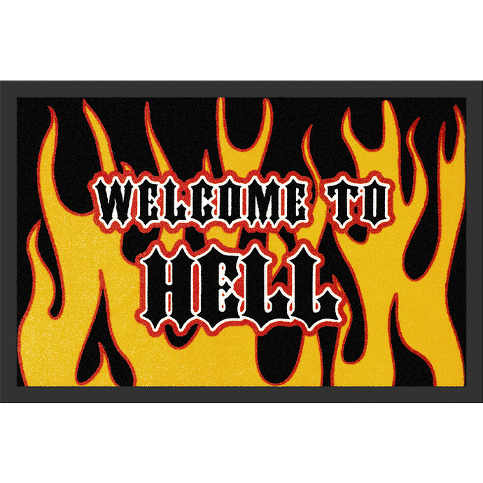 doormat Welcome To Hell - ROCKBITES