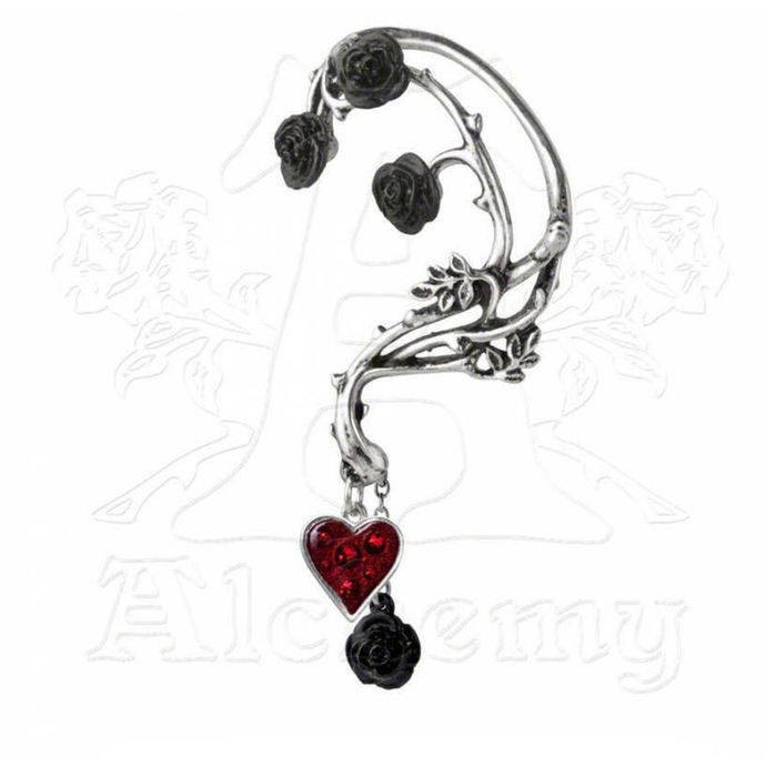 earrings ALCHEMY GOTHIC - Bed of Blood Roses Ear Wrap