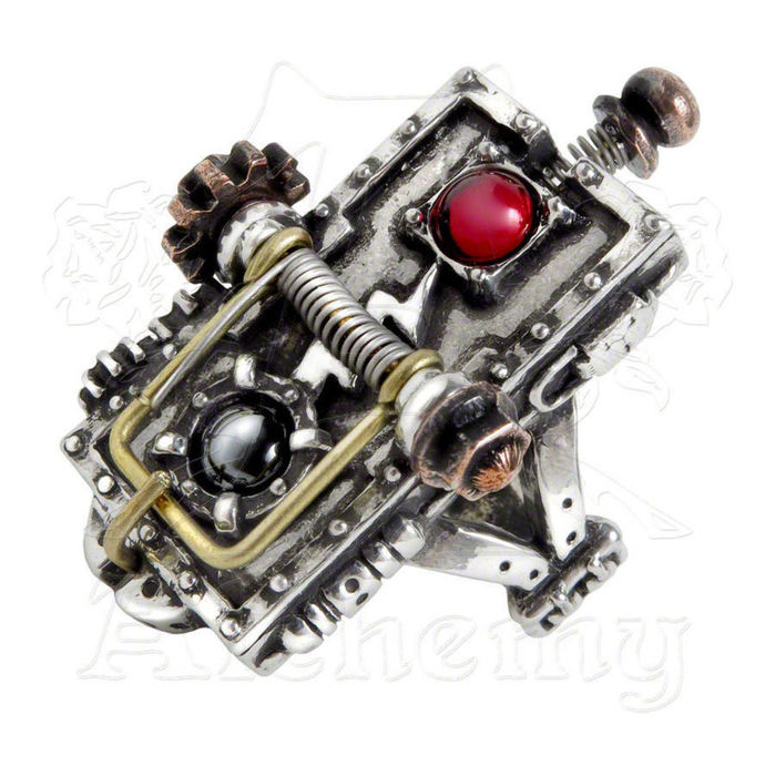 ring ALCHEMY GOTHIC - Van Helsing Kinetic Vampire