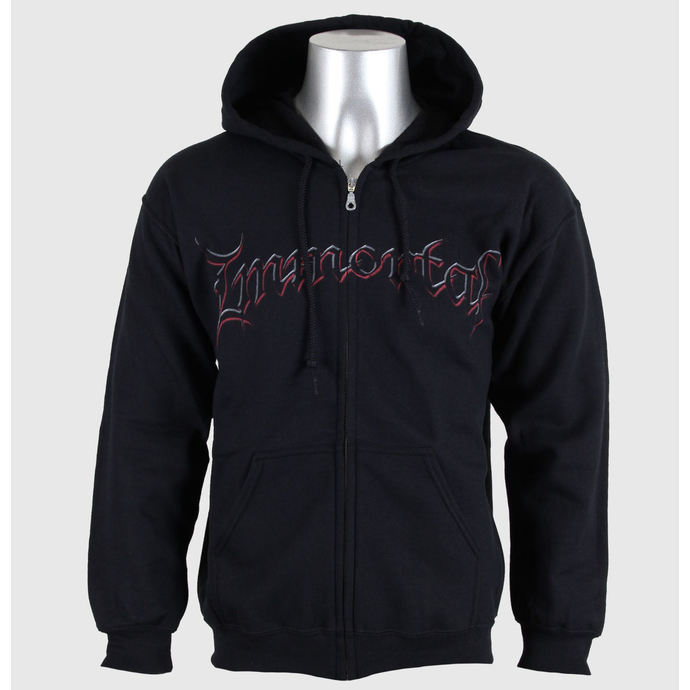 hoodie men's Immortal - Damned In Black - RAZAMATAZ