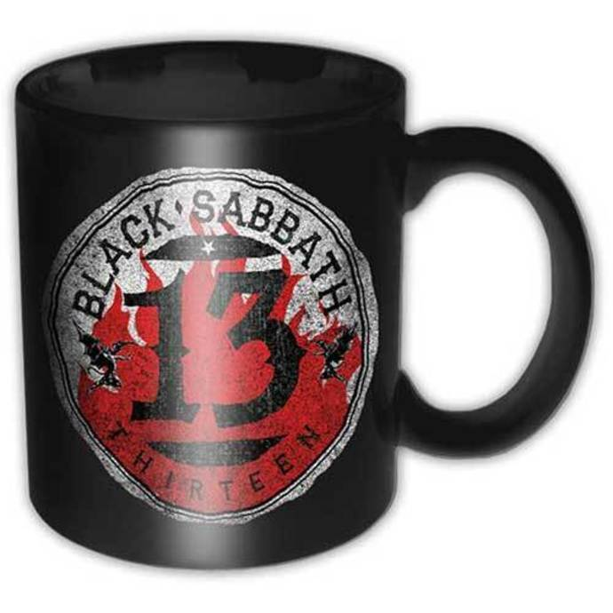cup Black Sabbath - 13 Flame Circle - ROCK OFF