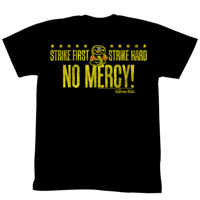 film t-shirt men's Karate Kid - No Mercy Cobra - AMERICAN CLASSICS