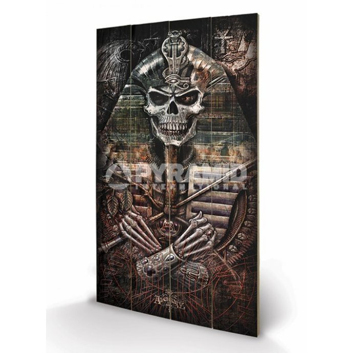 wooden image Alchemy - Thoth Codex - PYRAMID POSTERS