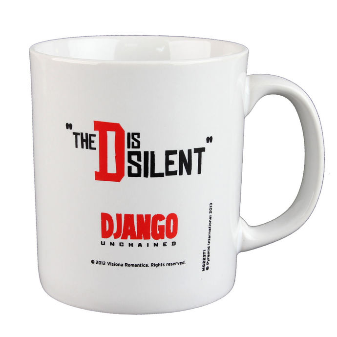 cup Django - Unchained - The D Is Silent - PYRAMID POSTERS