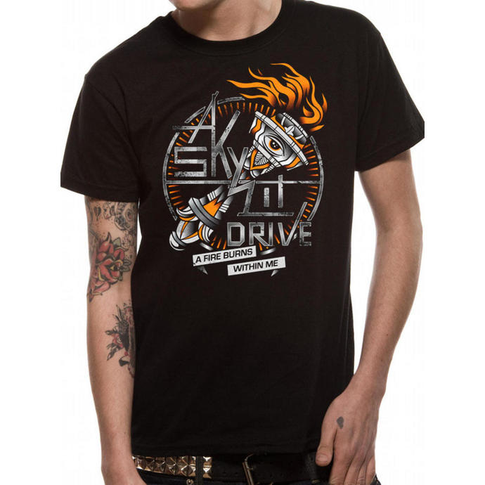 t-shirt metal men's A Skylit Drive - A Fire Burns Within Me - LIVE NATION