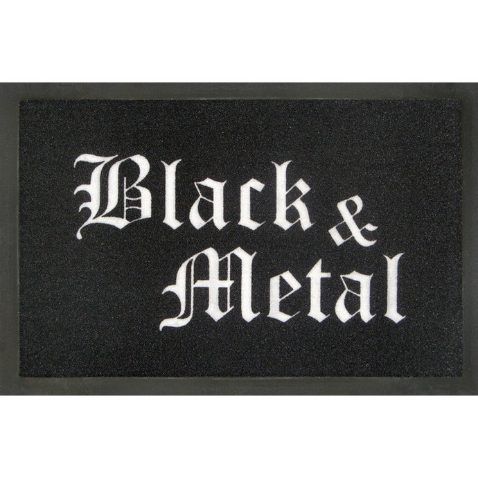 doormat Black & Metal - ROCKBITES