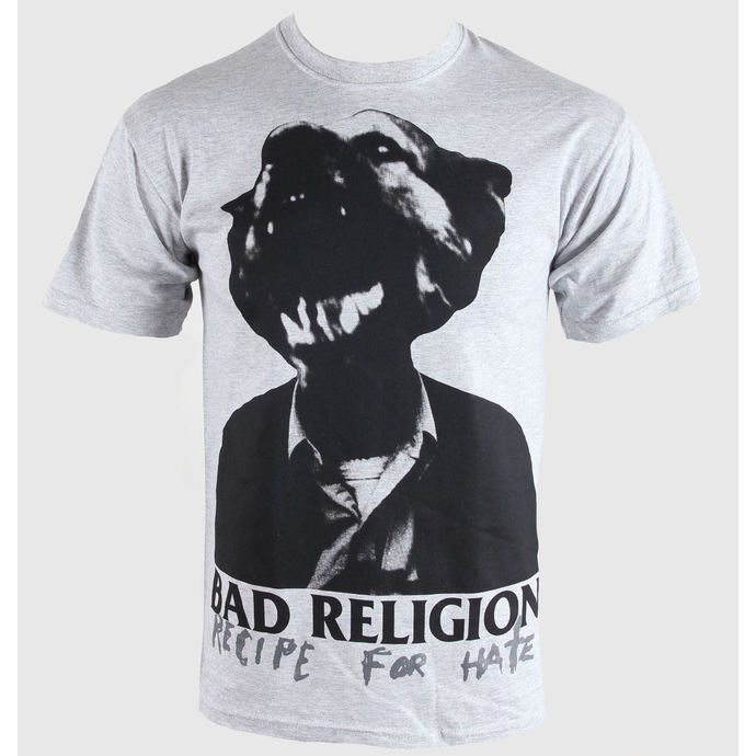 t-shirt metal men's Bad Religion - Recipe For Hate - KINGS ROAD