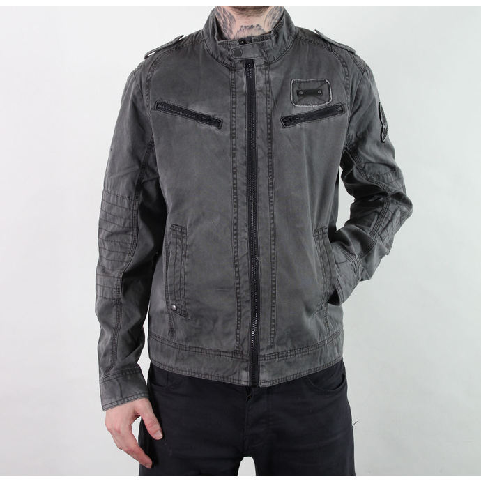 jacket men spring/autumn BRANDIT - Drake Vintage - Anthracite
