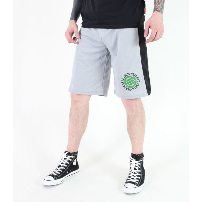 shorts men SANTA CRUZ - CIRCULATE BASKETBALL - GREY