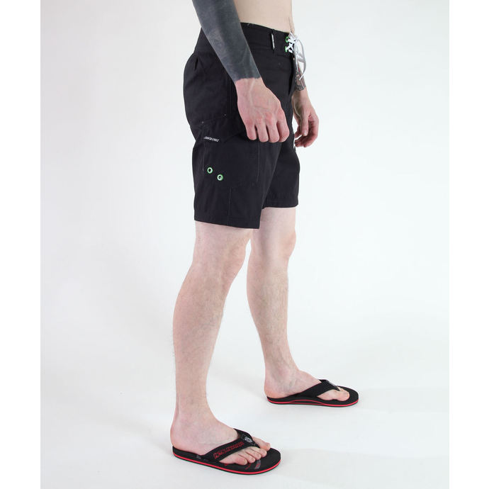 swimsuits men (shorts) SANTA CRUZ - CIRCULATE - BLACK