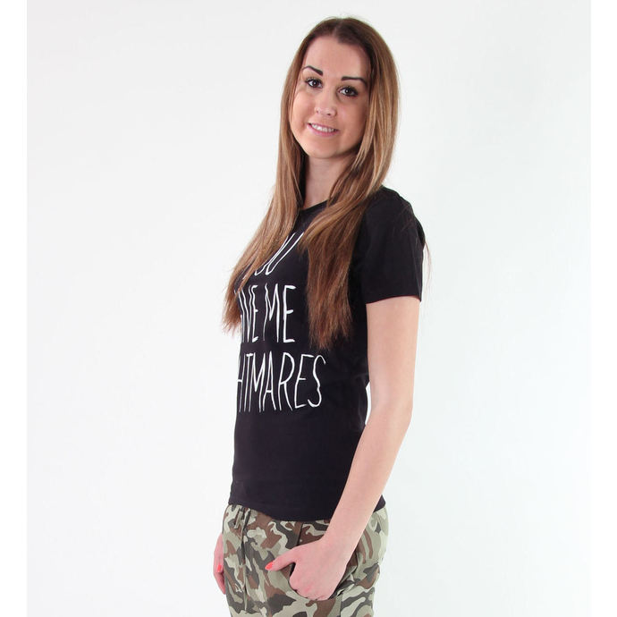 t-shirt hardcore women's children's - Your Give Me Nightmares - Akumu Ink