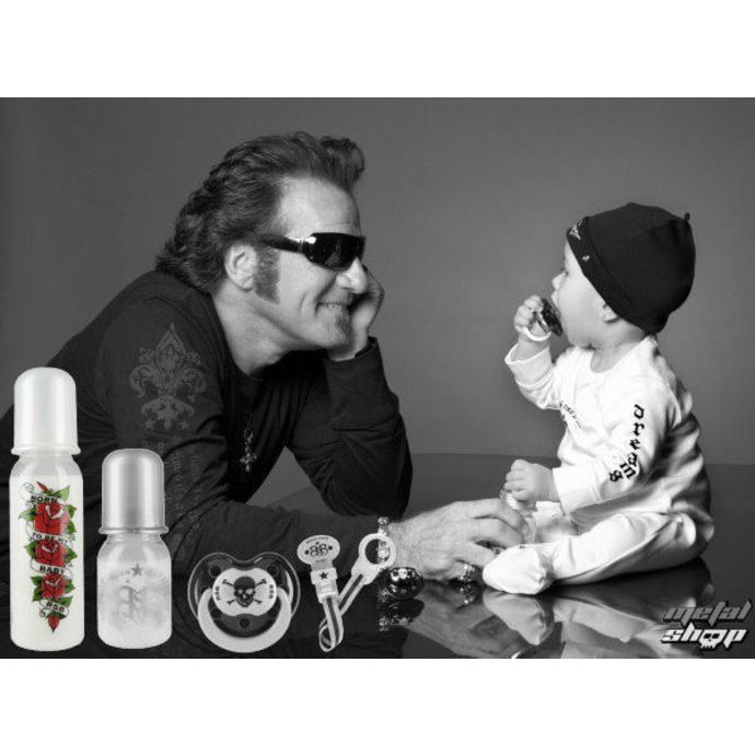 baby bottle (250 ml) ROCK STAR BABY - Leopard