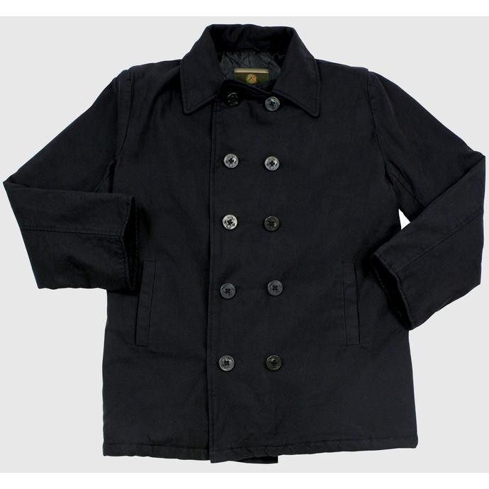 Jacket Men Winter Rothco Pea Coat, Black Cotton Pea Coat