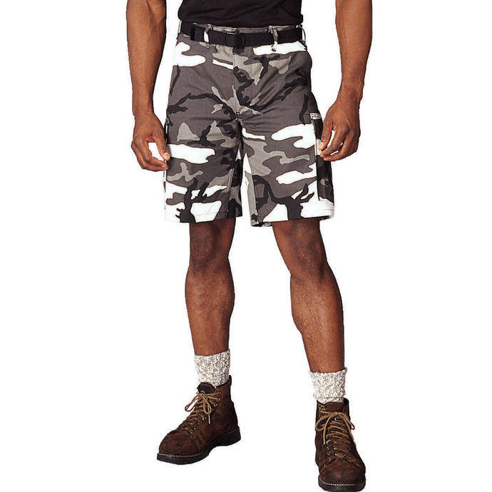 shorts men ROTHCO - L / C - CITY CAMO