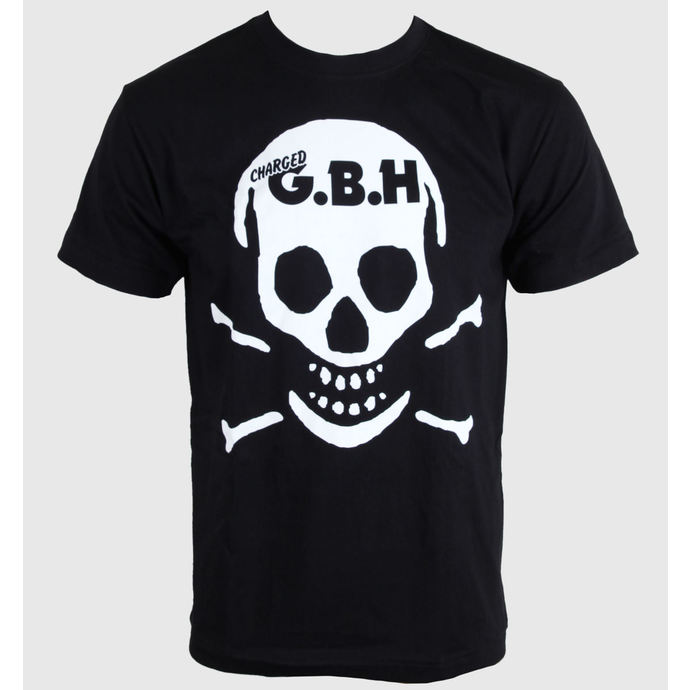 t-shirt metal men's women's unisex G.B.H. - Skull - CARTON