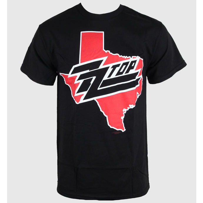 t-shirt metal men's women's unisex ZZ-Top - Texas - BRAVADO