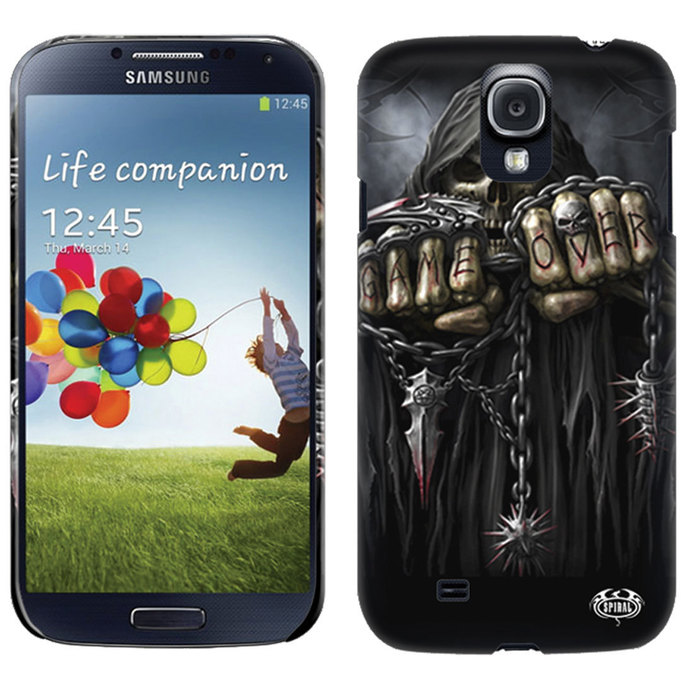 cover to cell phone SPIRAL - GAME OVER - SAMSUNG