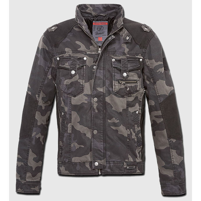 jacket men spring/autumn BRANDIT - Blake - Darkcamo