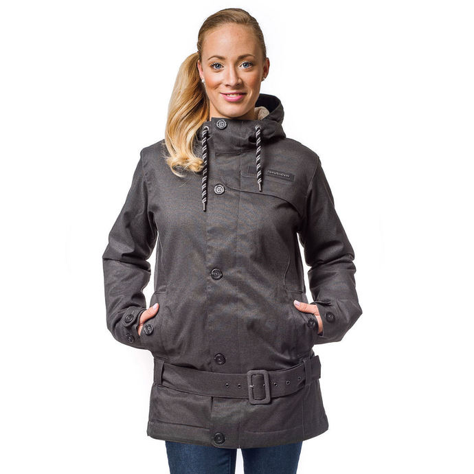 jacket women's winter Horsefeathers - TRINITY - Anthracite