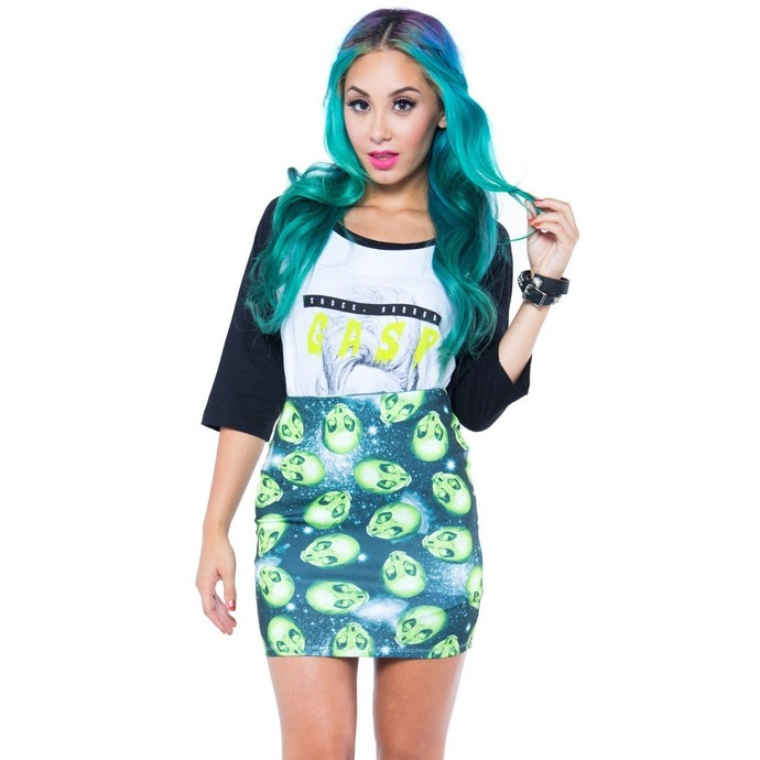 skirt women's IRON FIST - AREA 51