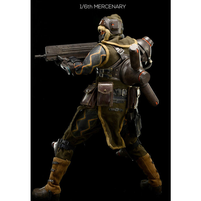 Lost Planet 2 Action Figure 1/6 Mercenary 30 cm