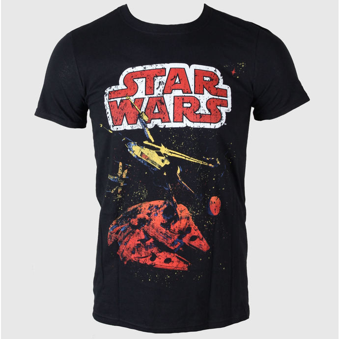film t-shirt men's Star Wars - Xwing Gradient - LIVE NATION