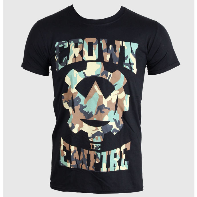 t-shirt metal men's Crown The Empire - Run And Hide - PLASTIC HEAD