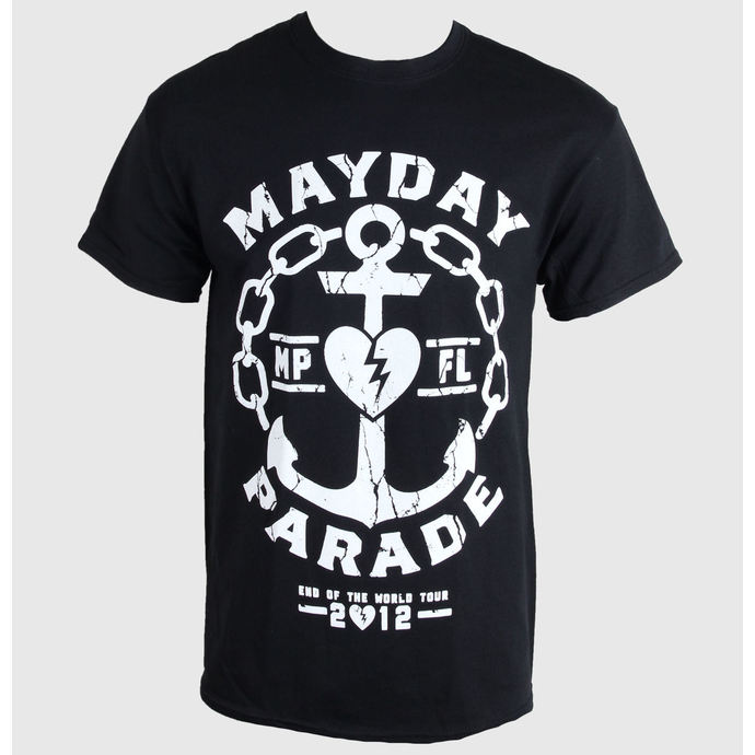t-shirt metal men's Mayday Parade - Anchor - PLASTIC HEAD