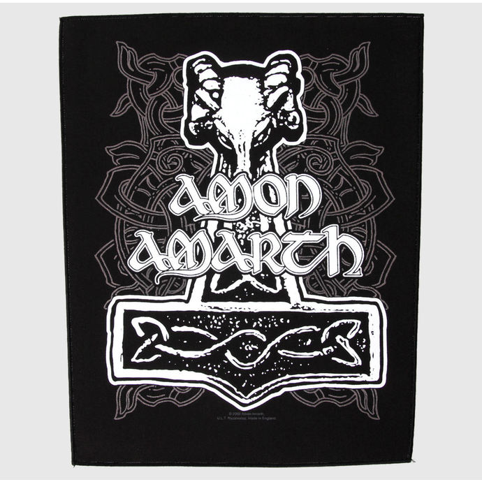 patch large - Amon Amarth - Hammer - RAZAMATAZ