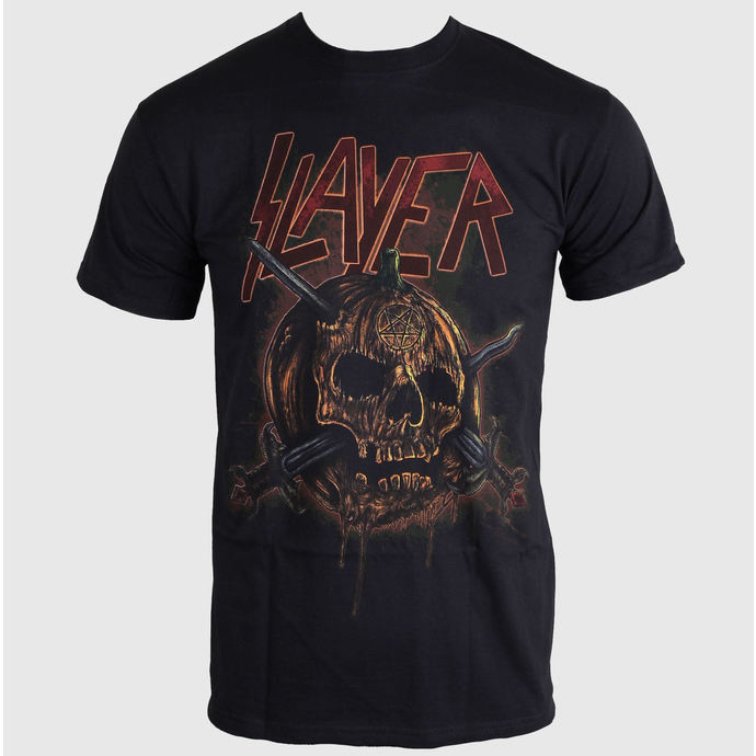 t-shirt metal men's Slayer - Pumpkin - ROCK OFF