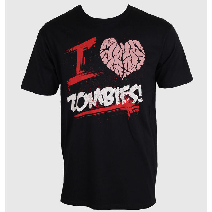 t-shirt men's - I Love You Zombies - NNM