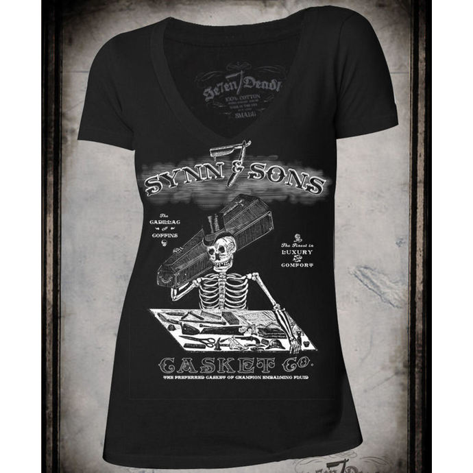 t-shirt hardcore women's - Synn & Sons - SE7EN DEADLY