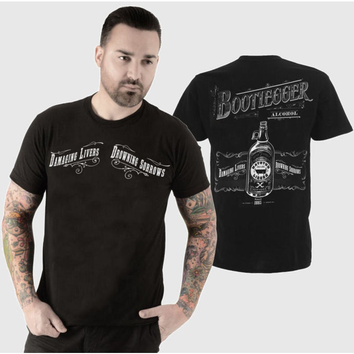 t-shirt hardcore men's - Bootlegger - SE7EN DEADLY
