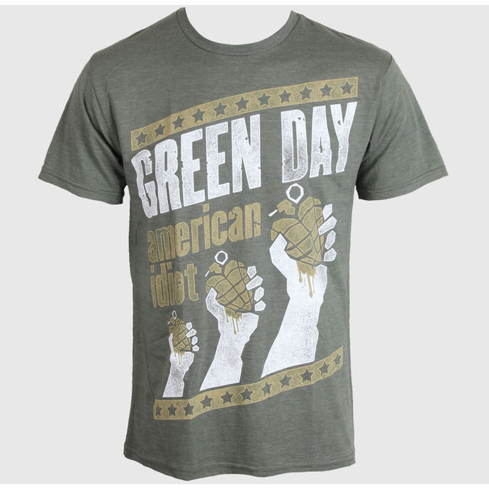 t-shirt metal men's Green Day - Handout - BRAVADO