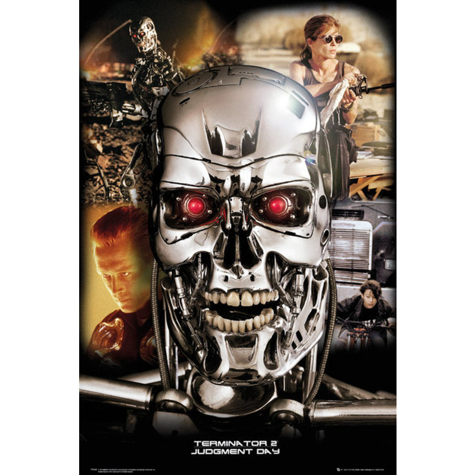 poster Terminator 2 - Collage - GB Posters