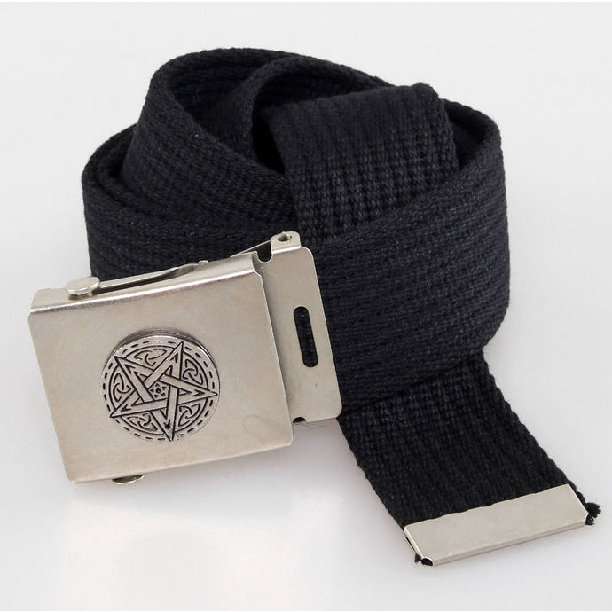 belt PENTAGRAM - Black
