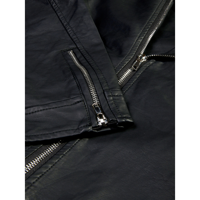 jacket men spring/fall Disturbia - Straight 2 Hell - Black