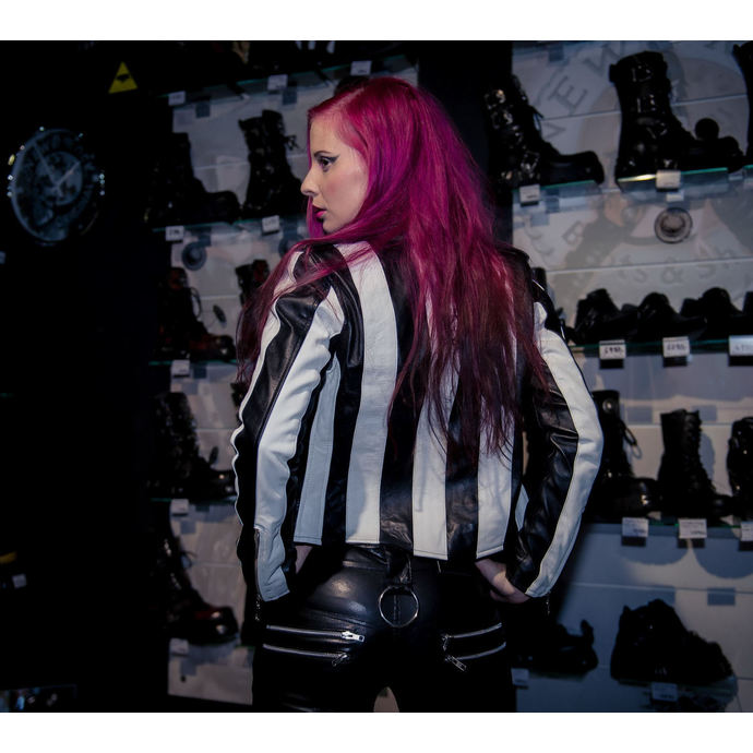 jacket women's (leather jacket) KILLSTAR - Beetlejuice