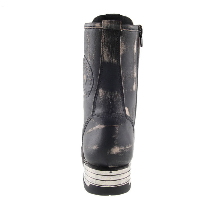 leather boots men's - NEW ROCK