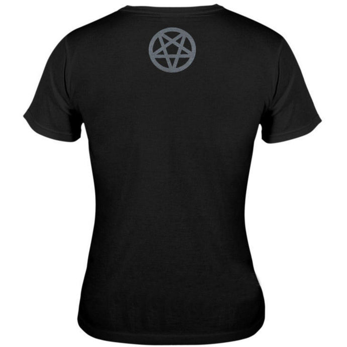 t-shirt hardcore women's - Baphomet - AMENOMEN